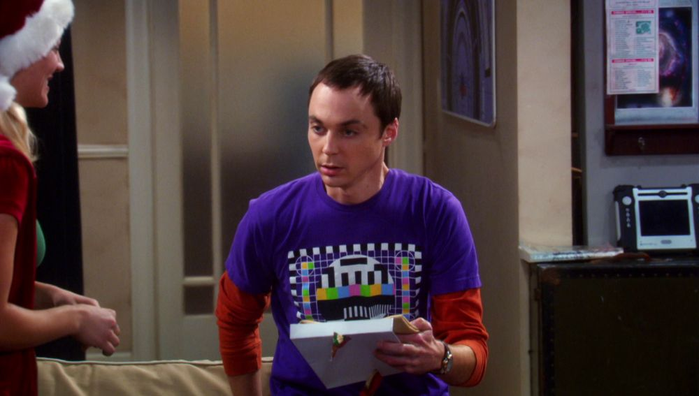 El mensaje de Leonard Nimoy para Sheldon en una servilleta