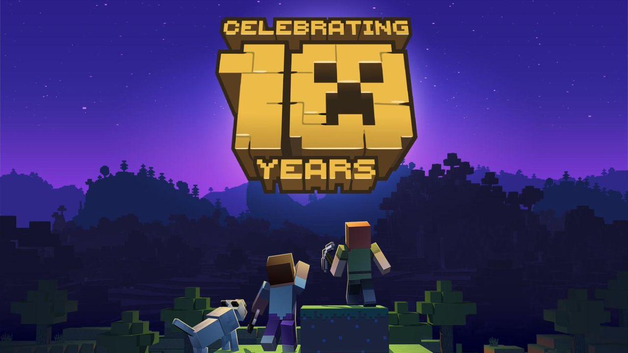 Minecraft Celebra Su Décimo Aniversario Con Una Versión