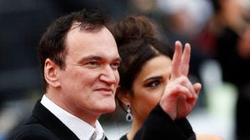 Quentin Tarantino en el Festival de Cannes