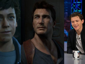 Nathan Drake y Tom Holland