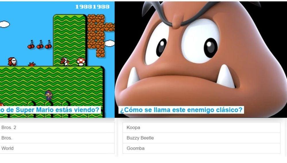 Test de Super Mario
