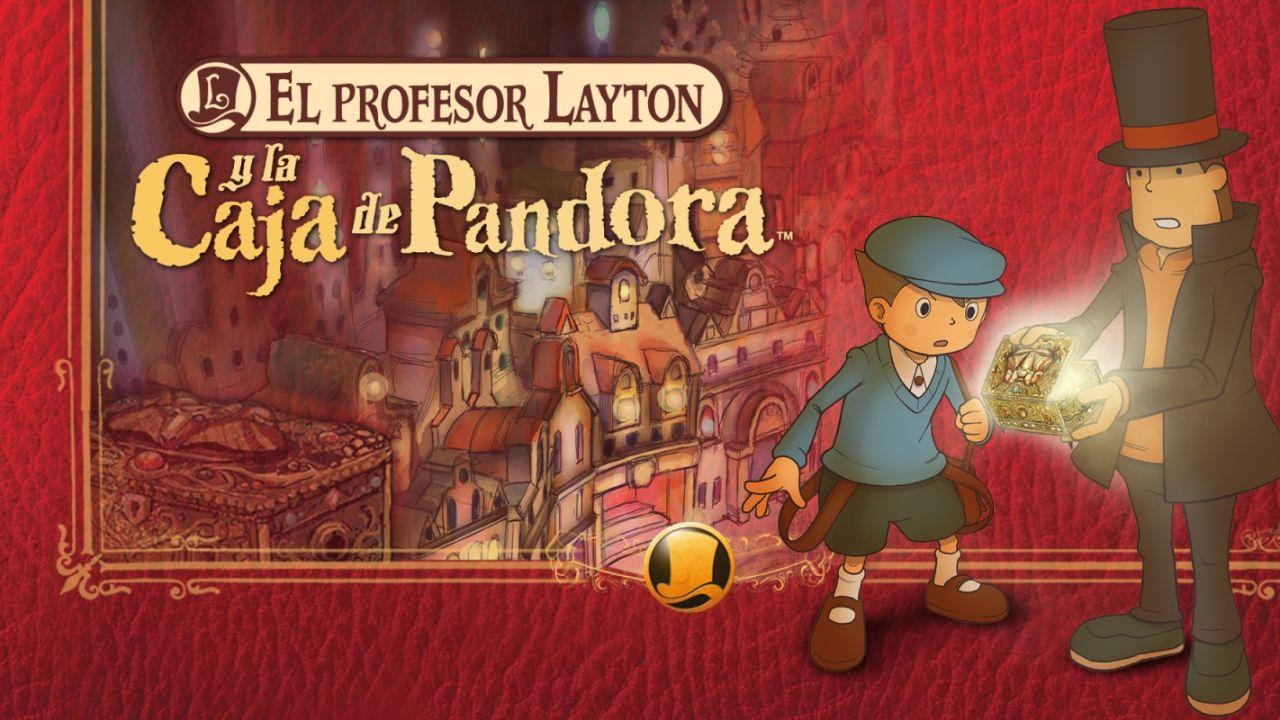 Layton Y La Caja De Pandora - VÍDEO