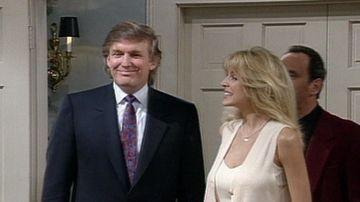 Así fue la visita de Donald Trump a la casa de la familia Banks