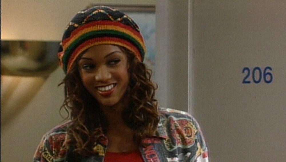 La aparición de la modelo Tyra Banks en 'El Príncipe de Bel-Air'