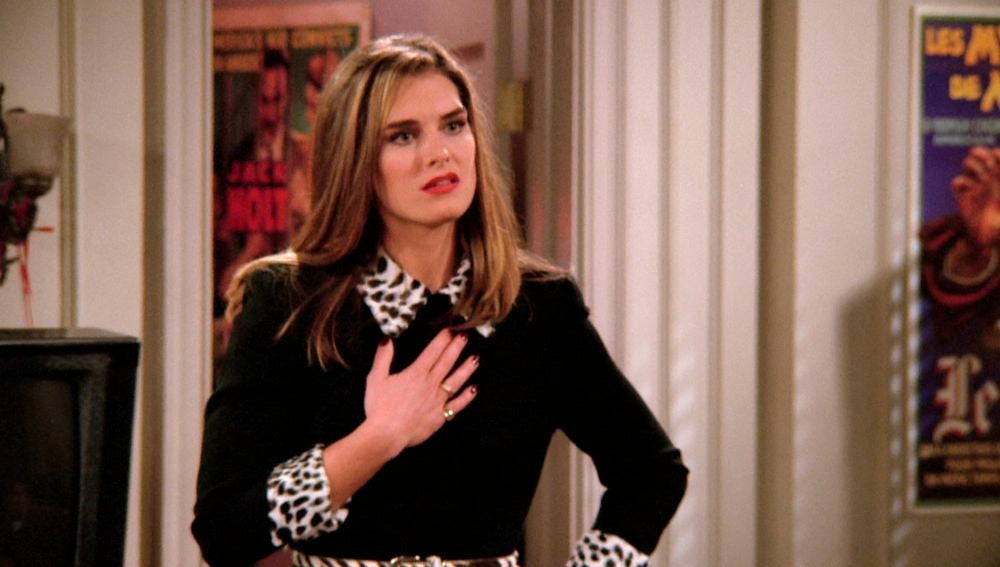 La loca fan de Joey en 'Friends' fue interpretada por Brooke Shields