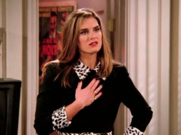La loca fan de Joey en 'Friends' fue interpretada por Brooke Shields
