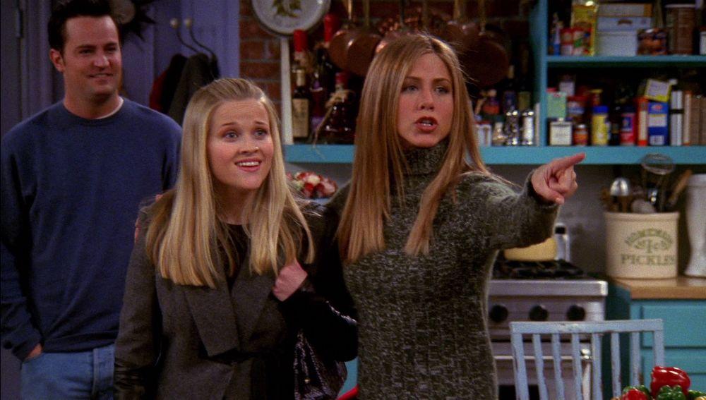 Reese Whiterspoon es la hermana de Rachel en 'Friends'