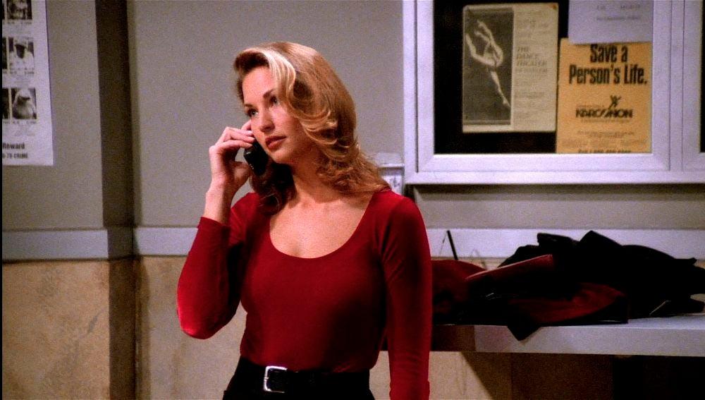 La modelo de Victoria Secret, Jill Goodrace, estuvo encerrada con Chandler en 'Friends'