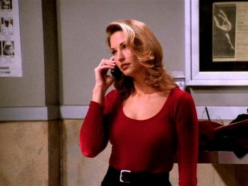 La modelo de Victoria Secret, Jill Goodrace, estuvo encerrada con Chandler en 'Friends'