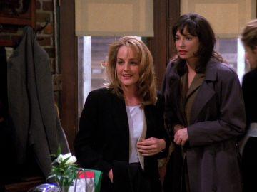 Una joven Helen Hunt tuvo su aparición en 'Friends'