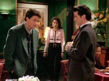 La cita a ciegas con la ex de Chandler