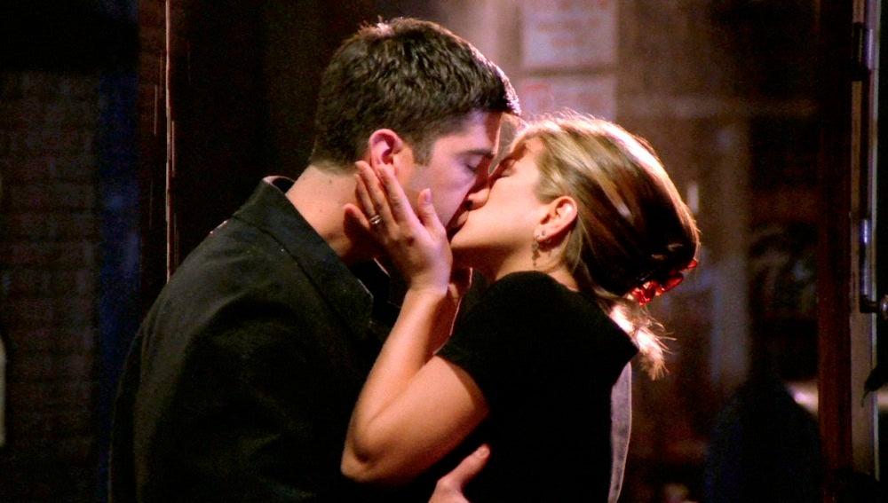 El beso más esperado de 'Friends'