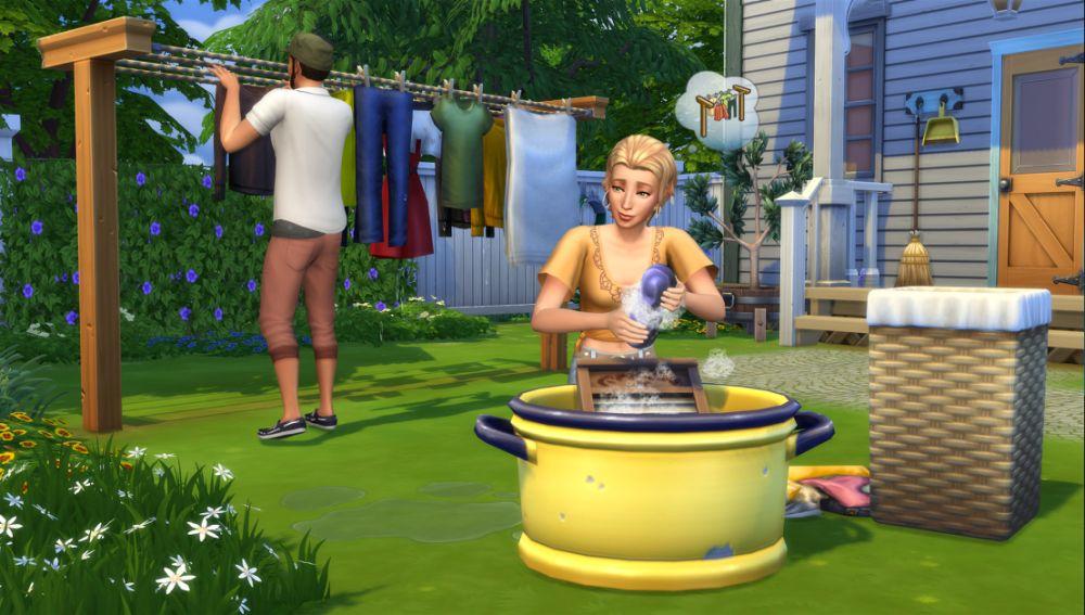 Los Sims 4: Día de Colada