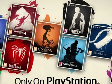 Juegos exclusivos con nuevas portadas