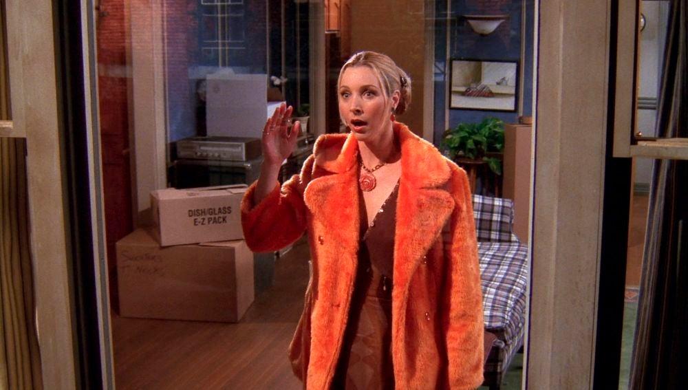 Phoebe descubre la relación secreta de Monica y Chandler