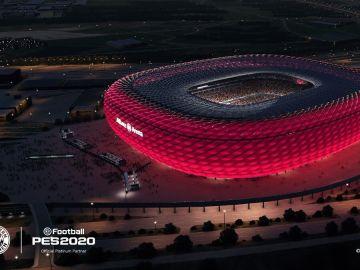 Allianz Arena en PES 2020