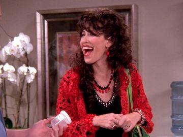 Janice se encuentra con Chandler en una clínica de fertilidad