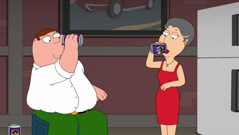 Peter descubre que la madre de Lois es igual que él