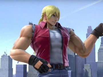 Terry Bogard en Smash Bros Ultimate
