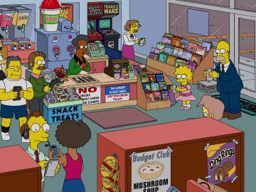 Pokemos Go vuelve adictos a los ciudadanos de Springfield