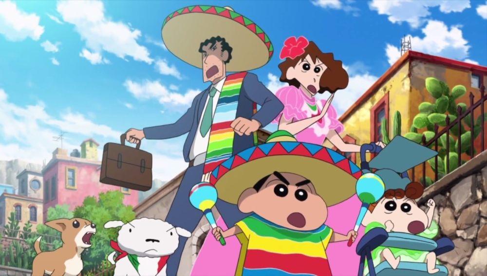Shin Chan en México