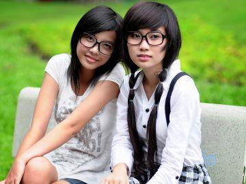 Jóvenes con gafas