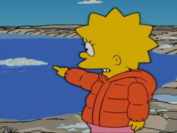 Lisa y el glaciar