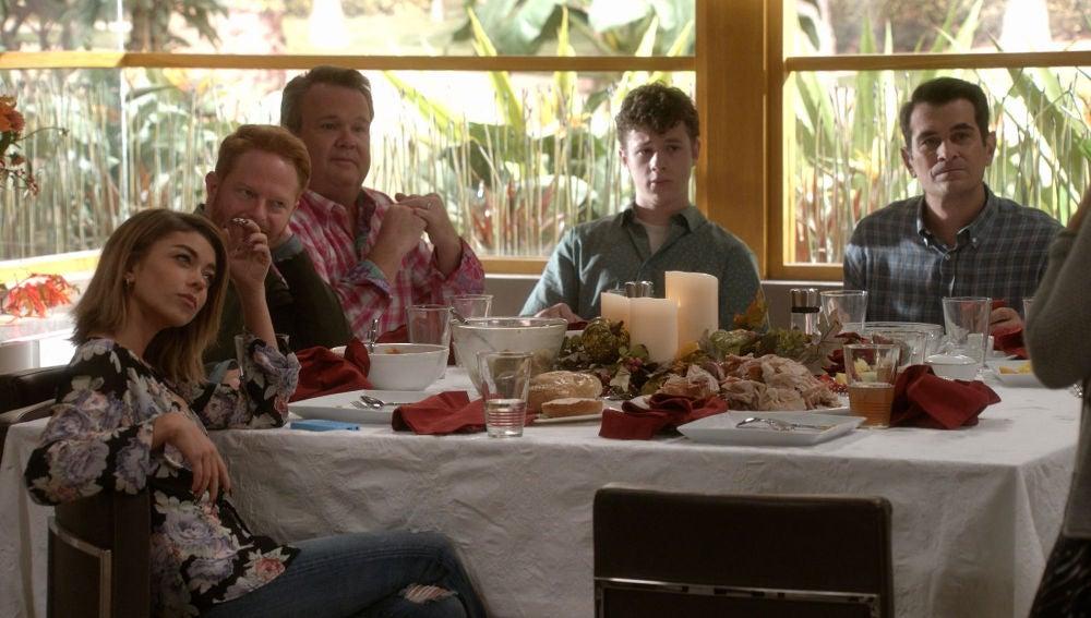 Acción de Gracias en Modern family
