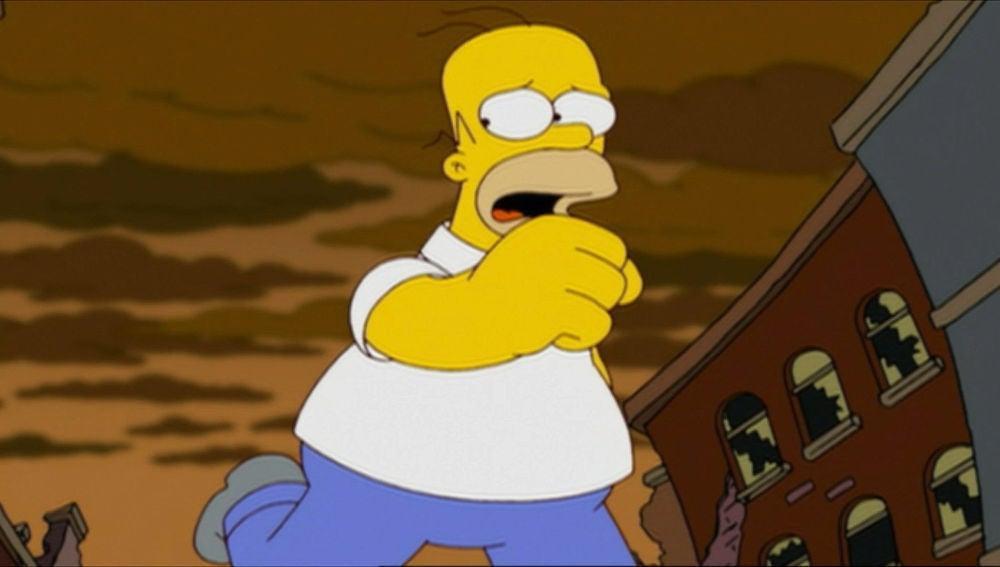 Homer y las abejas