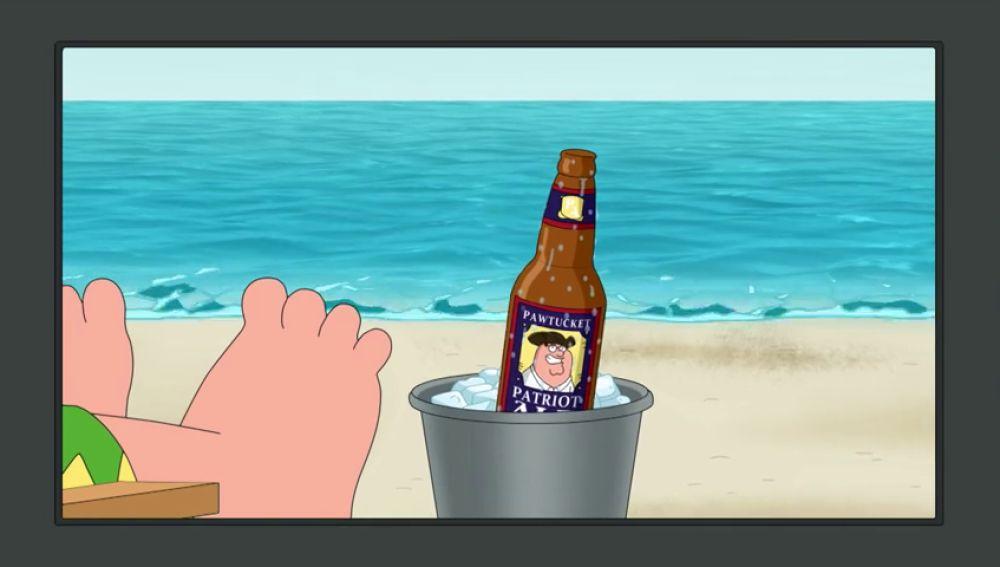 Peter se convierte en mascota de una marca de cerveza
