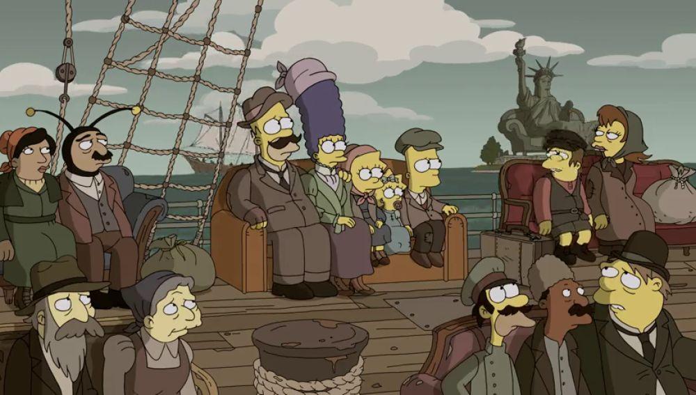 Los Simpson no son americanos, sino emigrantes