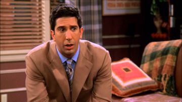 David Schwimmer como Ross Geller en 'Friends'
