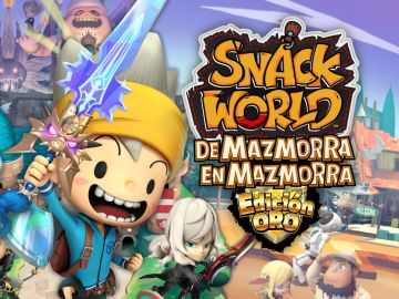 Snack World: De mazmorra en mazmorra