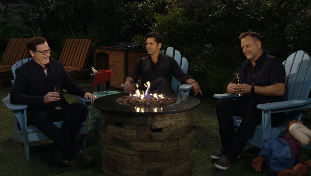Jesse, Danny y Joey