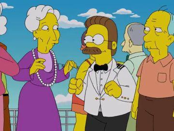 Ned Flanders cierra el Zurdorium y busca un nuevo empleo