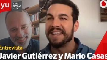 Mario Casas y Javier Gutiérrez