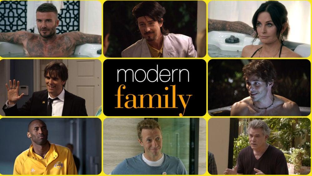 Cameos y famosos en Modern Family