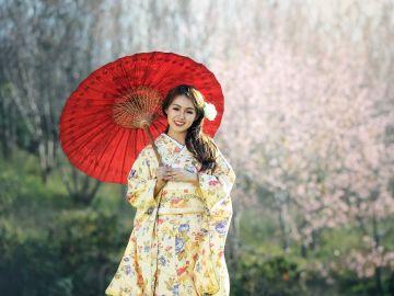 Joven japonesa