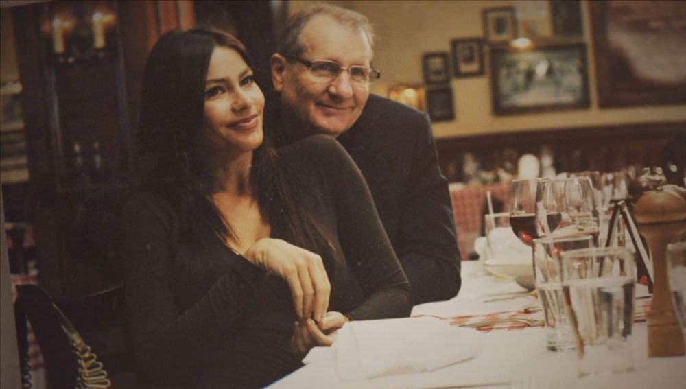 Sofía Vergara y Ed O'Neill