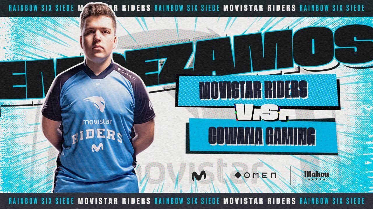 Movistar Riders cae ante Cowana y no estará en la European Challenger League de R6