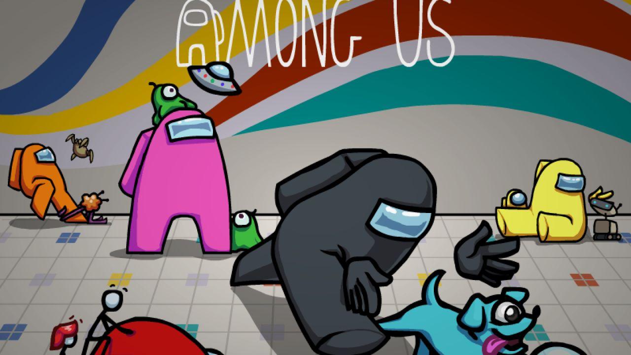 Among Us - cover