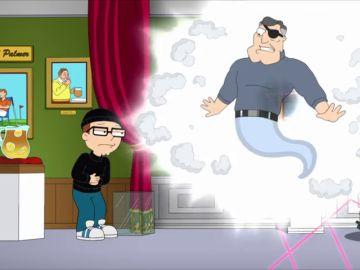 El padre de Stan fallece y se reencarna en Steve