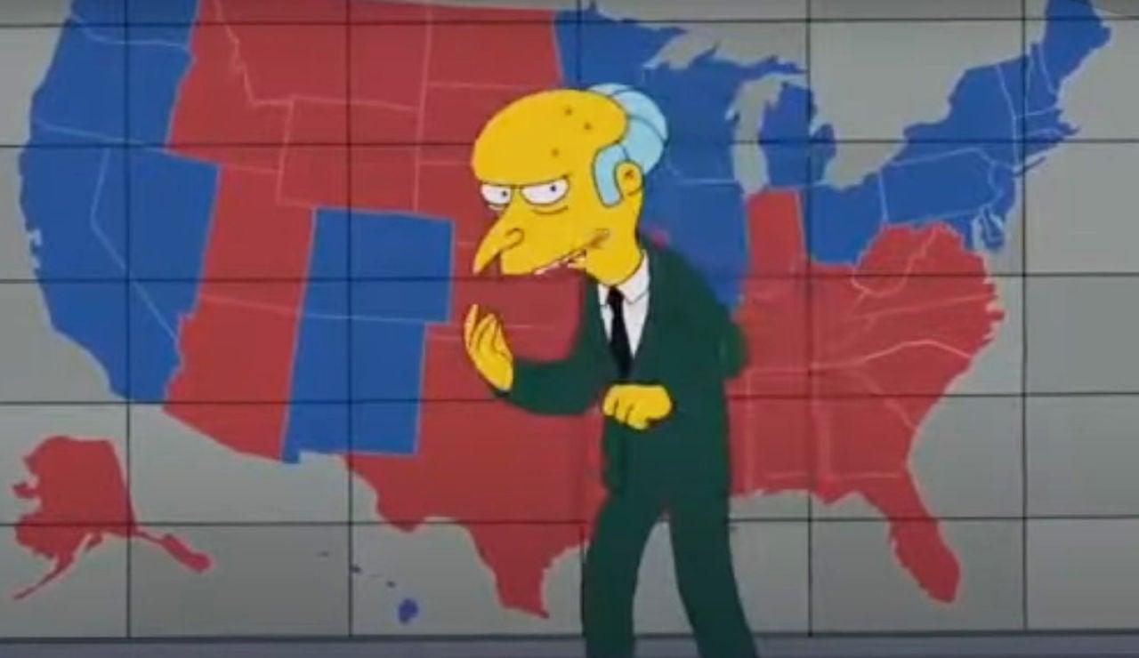 ¿Predijeron 'Los Simpson' la victoria de Joe Biden?