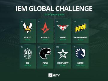 IEM Global Challenge de CSGO
