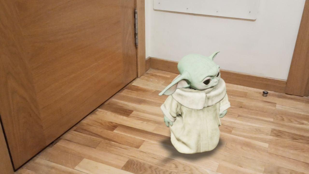 Pon a Baby Yoda en cualquier rincón de tu casa gracias a Google