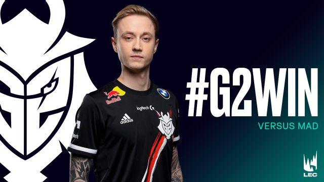 Rekkles - G2 Esports | LEC