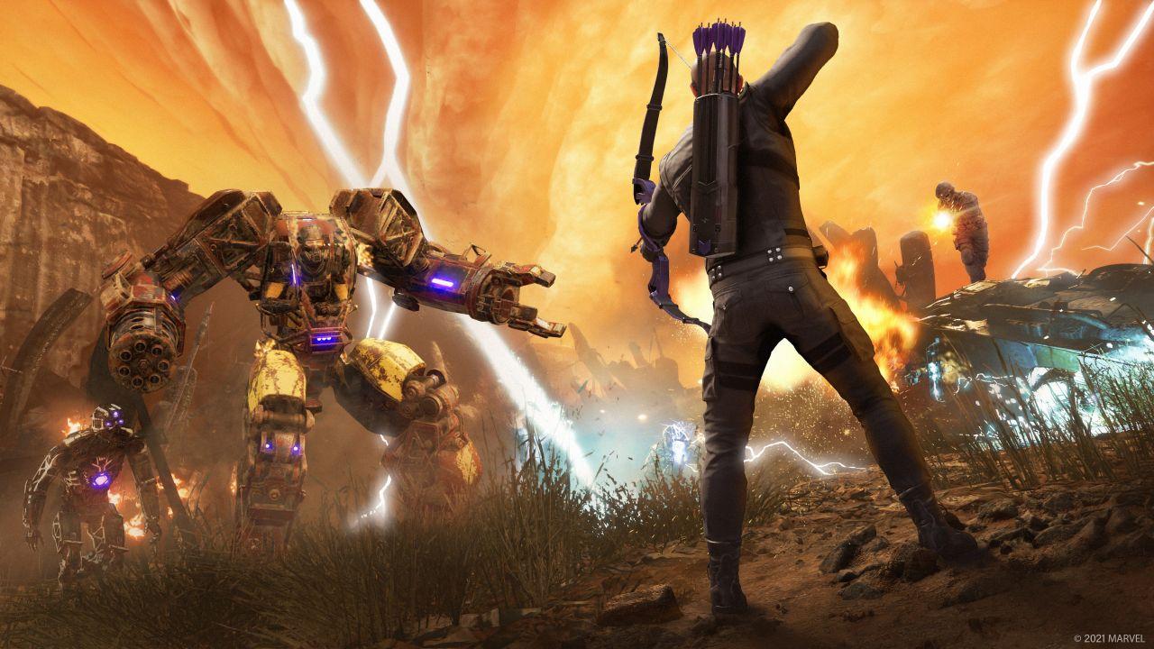 Marvel's Avengers: Llega Ojo de Halcón con una versión mejorada del juego para PS5 y Xbox Series X - VÍDEO