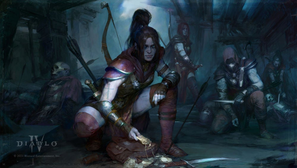 La pícara en Diablo IV