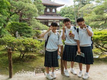 Escolares japoneses