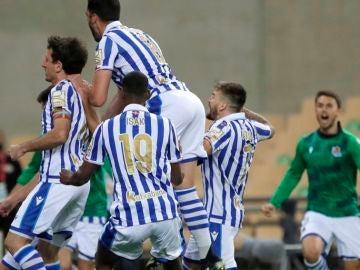Deportes Antena 3 (04-04-21) La Real Sociedad gana una final histórica ante el Athletic de Bilbao y consigue su tercera Copa del Rey